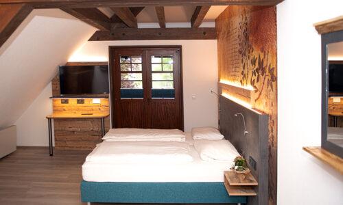 Schwarzwaldhof Nicklas - Premium-DZ mit französischem Bett